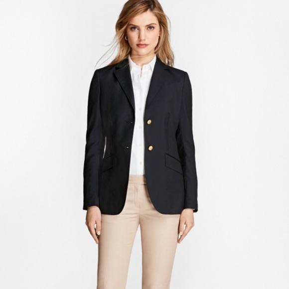 aaa8a0978f642 Brooks Brothers Jackets & Coats | Classic Navy Blazer Womens Sz6 ...